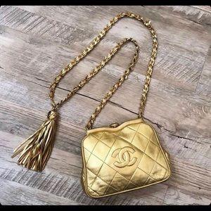 Chanel Gold Vintage Beltbag Waistbag